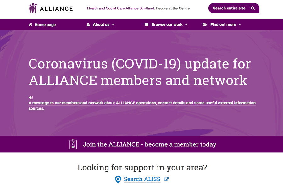 Alliance Statement On Coronavirus Outbreak